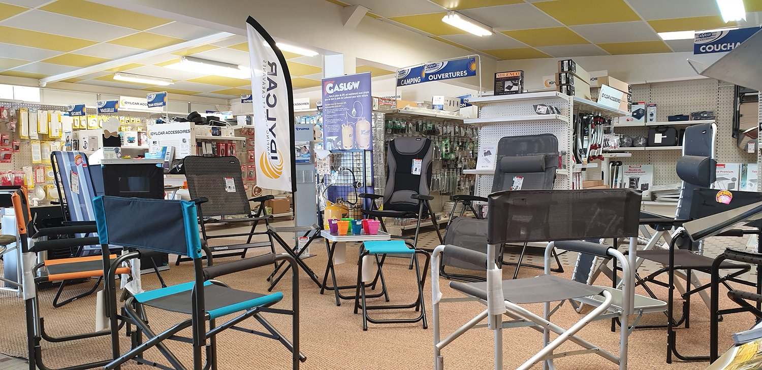 Magasin accessoires camping-car